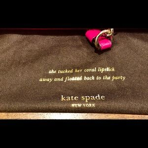 kate spade Bags - Pink Kate Spade Leather Purse with Chain
